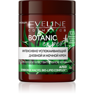 Intensively soothing day and night cream – aloe Vera, olive oil, bio lipid complex T. M. Series botanic expert, Eveline, 100 ml