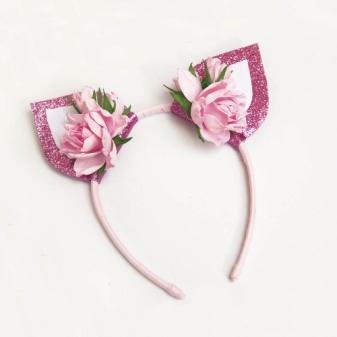 "Headband ""Ears"" for girls"