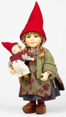 Doll porcelain Birgitte Frigast