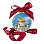 """Chocolate medal """"Cathedral of Christ the Savior"""" 70 g"""
