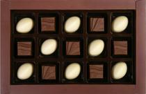 Congratulation 15 brown - Assorted chocolates 130 g