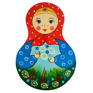 """Board kitchen wooden """"Matryoshka. Summer"""""""
