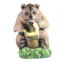 "Remeko / Decorative figure ""Bear with honey large"" L35W37H45cm"