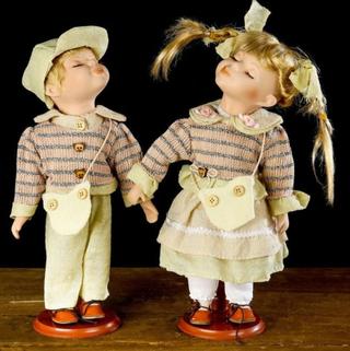 Dolls porcelain