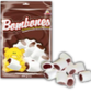 Marshmallows Guandy with chocolate and vanilla flavor Bear 200g
