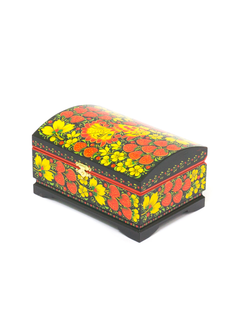 "The box ""Hohloma painting. Strawberry"" is wooden 170х110"