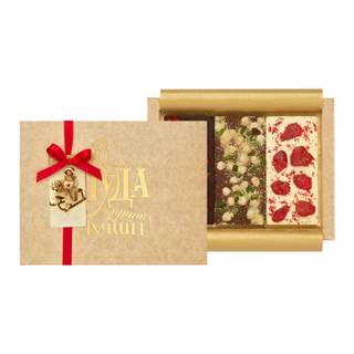 117 gift Set chocolate with additives 300g