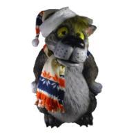 """Remeko / Piggy bank """"Wolf in a cap"""" L37W38H55cm"""