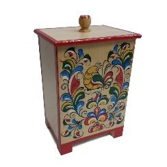 """Wooden box """"Uftyuzh painting"""""""