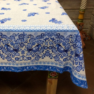 Tablecloth from the matting