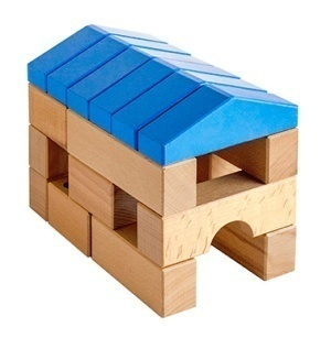"""Houses-mount """"build YOUR HOUSE"""" 70 items for children from 3 years"""