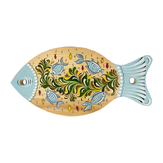 "Board kitchen wooden ""Fish"" 28 cm"