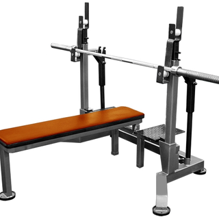 Jack stand with a bench