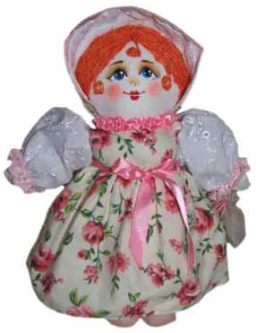 "Gift workshop / Textile doll ""Olga"""