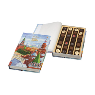 "Chocolate book with sweets ""Red Square"""