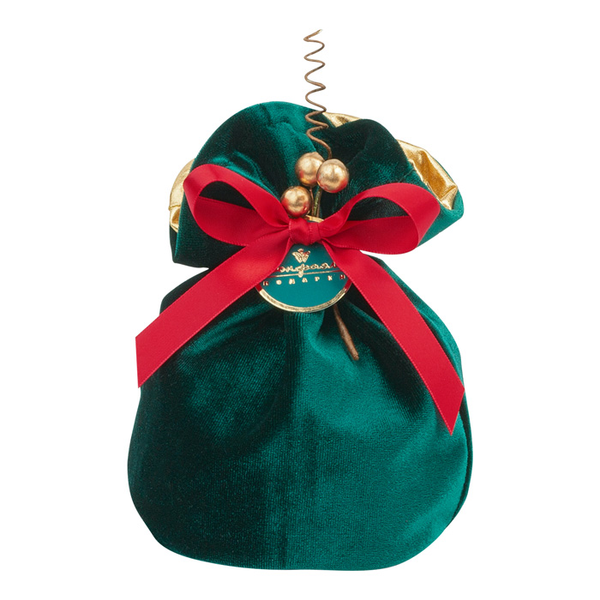 Bag 003 green Bean 'Mandarin' in white chocolate 250g