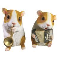 "Remeko / Decorative item ""Musicians"" (mix) L10W13,5H17"