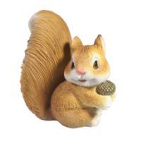 "Remeko / Decorative figure ""Squirrel with an acorn"" L13W9H14"