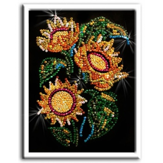 A set of creative mosaic of sequins