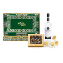 Box 001 Gift set: Chocolate candy 'Assorted', pills 3950г