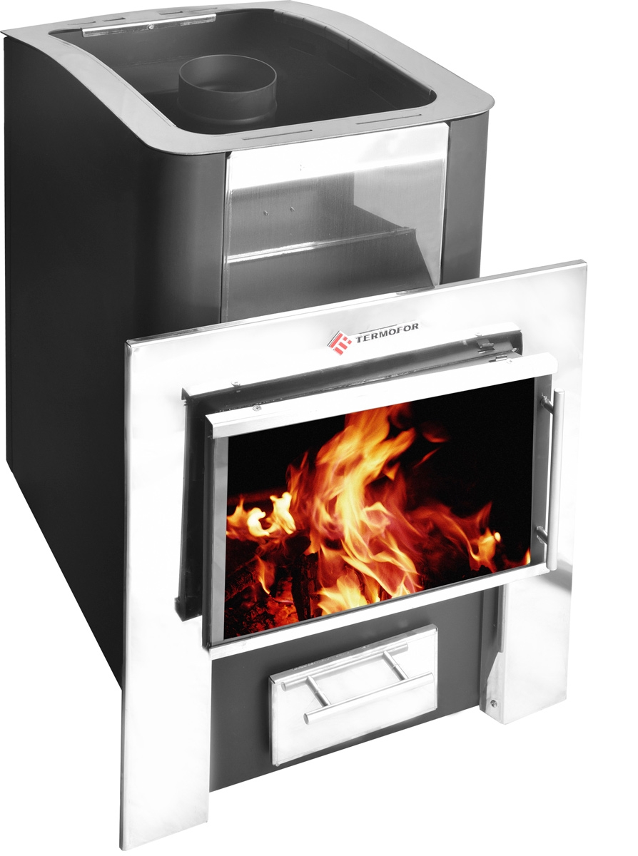 Oven bath Connecticu 12 with a panoramic door color anthracite