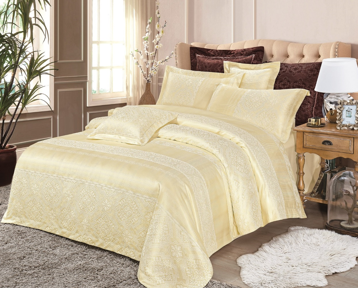 Bed will Belet Satin Jacquard Elit 238 - Duet