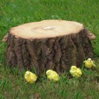 "Remeko / Decorative article ""Large stump"" L70W72H25 cm"