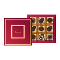 Congratulation 09 Gift set: handmade chocolates, chocolate candies (like 'Cuts') 205g