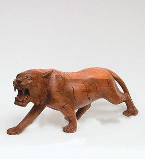 "Figurine mahogany ""Tiger"" 50 cm"