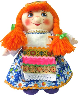 "Gift workshop / Textile doll ""Nastyusha"""