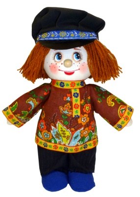 "Gift workshop / Textile doll ""Vasya"""