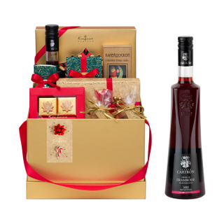 """001 box square Gift set: candy, jelly beans, chocolate, chocolate candy """"Assorted"""" 5210г"""