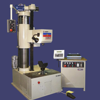 A device for measuring the hardness of large parts of Brinell method TB 5056-02
