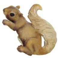 "Remeko / Garden figure ""Squirrel-lush tail"" L21.5W11H13cm"