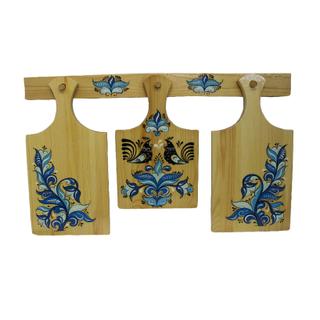 A set of wood planks