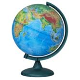 Physical earth globe