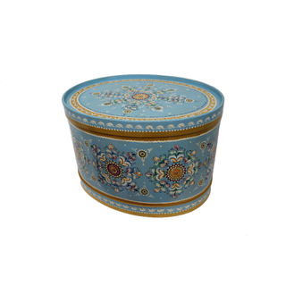 Wooden box with lid