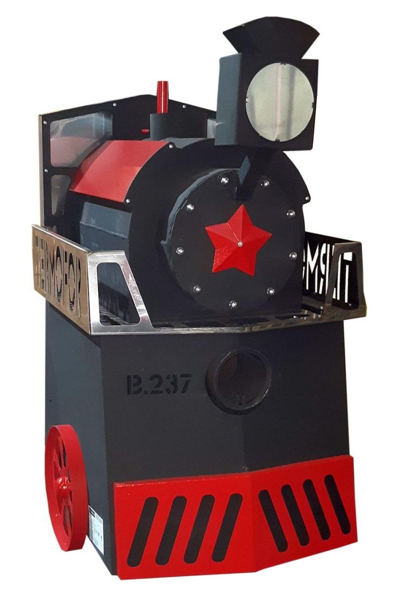 Oven steam Locomotive 14-18 bath with a door Plasma