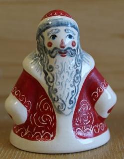 """Christmas tree decoration """"Santa Claus"""" ceramic"""