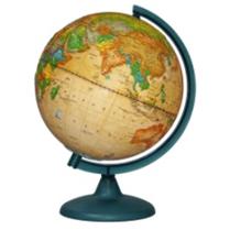 "Earth globe political relief ""Retro-Alexander"""