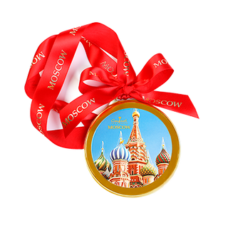 "Chocolate medal ""St. Basil's Cathedral"" 70 g"