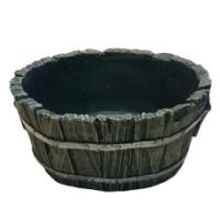 Remeko / Decorative planter ('Tub round' L17,5W12,5H7 cm)