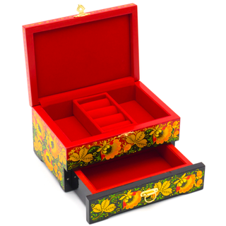 Box under the decoration of wooden 170х130
