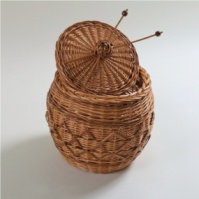 Azimuth / Box for needlework wicker from a vine