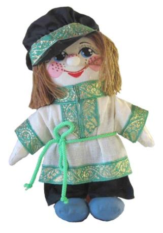 """Gift workshop / Textile doll """"Grinya"""""""