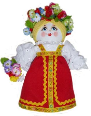 "Gift workshop / Textile doll ""Katyusha"""