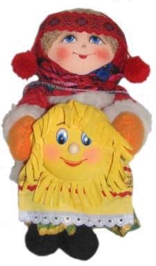 "Gift workshop / Textile doll ""Maslenitsa"""