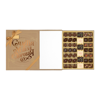 "The book is a great Gift set: chocolate, chocolate candy ""Assorted"", candy, handmade chocolates 420g"