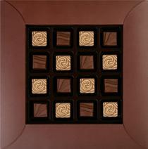 Congratulation 16 brown - Assorted chocolates 150 g