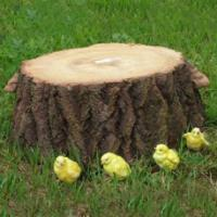 """Remeko / Decorative article """"Small stump"""" L68W70H21 cm"""
